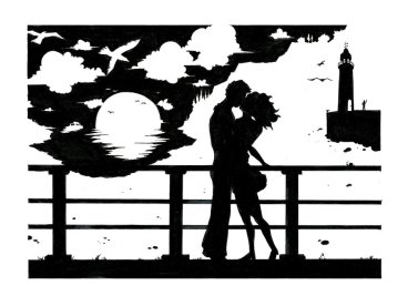 a_couple___silhouette_by_marvelmania-d38vuf0